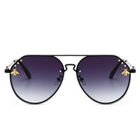 Wholesale retro sunglasses online - New Bee Sunglasses Women Trending luxury sunglasses retro metal frame fashion Brand Designer Vintage Lunettes Accessories