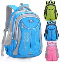Wholesale orthopedic school bags for children resale online - Kids School Bags Orthopedic Backpack Schoolbag Waterproof School Bags for Girls Boys Children Backpacks colors sizes
