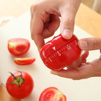 Wholesale kitchen timer cute for sale - Group buy New Cute Vegetables Fruits Hen Mechanical Kitchen Countdown Cooking Timer Alarm Minutes Free DHL