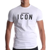 Wholesale icon t shirts - Icon t shirt Men's T Shirts Balr street tide brand short-sleeved round neck loose short-sleeved cotton men's personality men's T-shirt