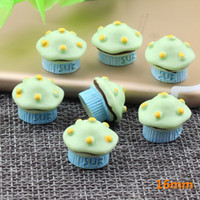 40 Cupcake 3D Antique Tibetan Silver Charms Afternoon Tea Baking Cup Cakes Craft