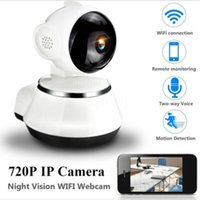 Wholesale wireless webcam baby monitor for sale - Group buy Baby Monitor IP Camera Radio Video Nanny Electronic Baba Wireless Wifi Home Security Camera Videcam Webcam PHD NightVision