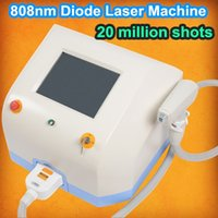 Wholesale manufacturing machines - Manufacture Supplied Laser hair removal Machine 808nm Diode Laser Permanent laser hair removal machine Aluminum Alloy Box Packing