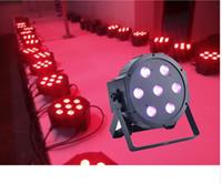 Wholesale slim par - 1pcs China dj par slim led par 7x12W RGBW 4IN1 dmx led par light rgbw No Noise