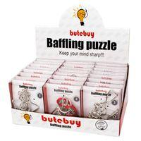 Wholesale puzzle pc game - 2018 New Arrival 24 PCS Set 3D Interlocking Baffling Puzzle IQ Unlock Puzzle Toy for Children Adults Keep Mind Sharp Game Puzzle Toy