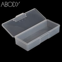 Wholesale tip nail storage box case for sale - Group buy Plastic Nail Art Storage Box Storage Display Box Case for Jewelry Beads Nail Art Tips Portable Equipment Tool NEW