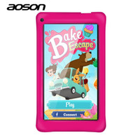 Wholesale best dual core tablets for sale - Aoson M751 inch Kids Tablets PC GB GB Android Quad Core Education Tablet Dual Cameras WIFI Google Store Best gift