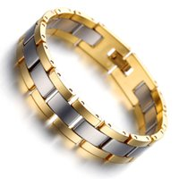 armband wolfram großhandel-2018 Fashion Hologramm Armbänder für Frauen Männer Wolfram Armbänder B2008 Männer