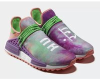 Wholesale Boots Boys - Human Race Pharrell Williams: Hu Holi Powder Dye Collection Spring Summer 2018 Running Shoes,pw human race TR billionaire boys club 1 Shoe