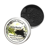 Wholesale charcoal pads - White Teeth Powder Smoke Coffee Tea Stain Remove Bamboo Activated Charcoal Powder Dental Tools 2018