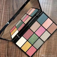 Wholesale sell eye shadow palettes for sale - Group buy Hot Selling LUNT NYX in your element Colors Eyeshadow Palette EARTH FIRE Makeup Eye Shadow Palette Waterproof