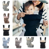 Wholesale toddler front carrier - Infant Baby Carrier Safety Four Position 360 Comfortable Breathable Backpack Toddler Sling Wrap Multifunction Kids Waist Stool 1024