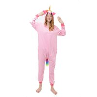 d3dff21a9c Unisex Adult Unicorn Pajamas Unicorn Cosplay Costume Sleepwear Halloween  Costumes