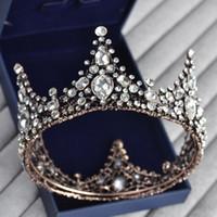 coroas redondas para noivas venda por atacado-Coroa de casamento de coroa de coroa de coroa redonda