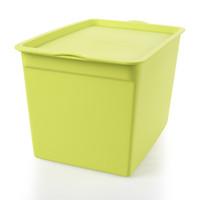 brinquedos de roupa interior venda por atacado-Caixa de armazenamento cosmética de tamanho médio do brinquedo com tampa, caixa do roupa interior da caixa de armazenamento do Desktop do escritório