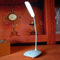 ingrosso lampada da tavolo 12v-Lampade da tavolo USB ricaricabili a LED per scrivanie Lampada da tavolo ad intensità regolabile Lampada da lettura Lampade da tavolo Lampade da tavolo