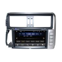 Wholesale toyota prado car stereo - 8inch 4GB RAM Andriod 6.0 Octa core Car DVD player for Toyota PRADO with GPS,Steering Wheel Control,Bluetooth,Radio