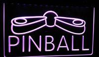 ingrosso segni al neon flipper-LS292-p Pinball Game Room Display Decor Luce al neon Iscriviti Decor Dropshipping di spedizione all'ingrosso 6 colori tra cui scegliere