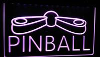 sinais de neon de pinball venda por atacado-LS292-p Pinball Game Room Display Decoração Neon Light Sign Decor Frete Grátis Dropshipping Atacado 6 cores para escolher