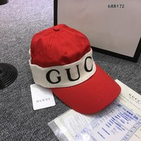 Wholesale red hair love - Fashion Men Women Luxury BINB G LOGO Embroidery Sweethearts Vintage Style Hair Band Baseball Cap Love Black Red Hat Headband HFLSMZ033
