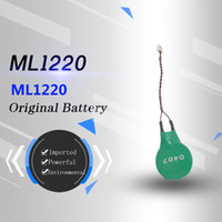 Wholesale new laptop motherboards online - Original brand new genuine VARTA ml1220 V rechargeable laptop motherboard battery remote long plug cable bluetooth MP3 remote toy battery