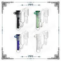 клипсы оптовых-Recycler ashcatcher подходят стеклянные бонг водопроводные трубы с зажимом downstem золоуловитель стекла воды бонг 14,4 мм 14 мм