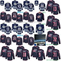 Wholesale Mens Green Cotton Jacket - Mens Kids Columbus Blue Jackets 13 Cam Atkinson Brandon Saad Sergei Bobrovsky Nick Foligno 17 Brandon Dubinsky Scott Hartnell Hockey Jerseys