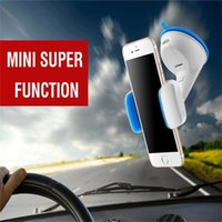 Wholesale silicone sucker phone holder for sale – best 360 Degree Car Mobile Phone Bracket Paste Silicone Sucker Style Multi functional Outlet Common Mobile Phone Holder For Iphone Smartphone