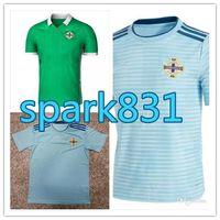 Wholesale k l - 2018 Northern Ireland world cup soccer jersey McNAIR thai quality 18-19 K LAFFERTY DAVIS Northern ireland football Jersey Free shipping