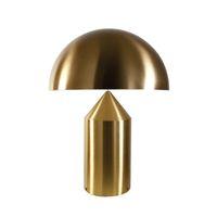 mesa moderna italia al por mayor-Italia Compasso d'oro Oluce Atollo Lámpara de escritorio moderna Mushroom Table Lamp lightsideside