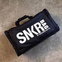ingrosso sacchetto di scarpe da ginnastica-Borsa da esterno SNKR Borse multifunzionali Borse da viaggio Zaino da basket Borse da palestra Borse ad alta capacità Borse da viaggio a spalla singola