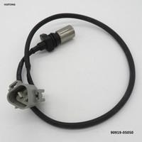 датчик коленчатого вала toyota оптовых-Надежный качественный кривошипный датчик положения коленчатого вала 90919-05050 029600-1151 для TOYOTA HILUX 2.5/ 3.0 2005 Vigo Hiace