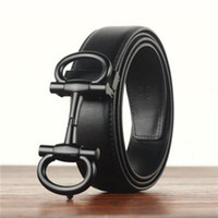 Wholesale hot jeans for men - 2018 hot new brand belts for women and men Fashion designer Genuine cow leather luxury Buckle belt Jeans English letter buckle printing
