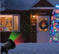 luces verdes de jardinería solar al por mayor-Luces láser solares Luces de Navidad láser rojas al aire libre al aire libre, iluminación inalámbrica decorativa impermeable para el paisaje de seguridad para la cubierta del patio Yar