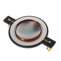 filmes de áudio venda por atacado-Ey áudio speaker titanium film 44 núcleo agudos bobina de voz carretel tweeter acessório