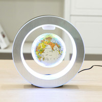 weltkugeln groihandel-Magnetic World Globe Magnetic Floating globe LED Levitating Rotating Tellurion World map school office supply Home decor
