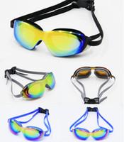 7d702df70 Novos óculos de natação de alta definição à prova d  água anti-nevoeiro e  anti-UV óculos de natação adulto high-end