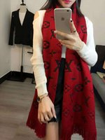 Wholesale thick wraps shawls - Women Scarf Winter Women Scarves Long Wrap Shawl Thick Warm Cotton Cashmere Chenille Women's Scarf