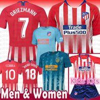 Wholesale soccer atletico for sale - top Madrid Atletico Soccer Jersey  GRIEZMANN Correa Lucas Costa Koke 4827391a8