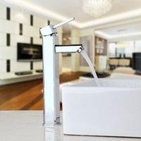 banyo lavabosu tezgahı toptan satış-Banyo Musluk Krom Tezgah Musluklar Banyo Havzası Evye Bataryası Mutfak Sıcak Soğuk Su Mikser Lehçe