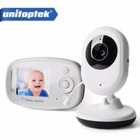 Wholesale babysitter camera - 2.4GHz Wireless Infant Radio Babysitter Digital Video Camera Sleeping Baby Monitor Night Vision Temperature Display Radio Nanny