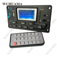 Wholesale reader boards - Bluetooth MP3 Decoding Board Module LED Lyric 12V DIY USB SD MMC WAV Decoder Record MP3 Player AUX FM Folders Switch Card Reader