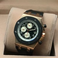 Wholesale top cheap watch brands - 2018 top sell mens luxury brand watches royal oaks offshare automatic Chronograph all functional AAA designer sports wacth cheap price