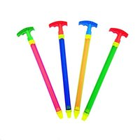 Wholesale gun rods - Drifting water, water gun, needle cylinder pull type water absorption, water fighting, beach toys.
