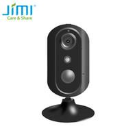 kamera video mini 4g großhandel-Jimi Neu JH007 4G Mini Indoor HD IP Kamera Drahtlose Audioaufnahme Überwachung Nacht Sicherheit CCTV Kamera Netzwerk Baby Monitor
