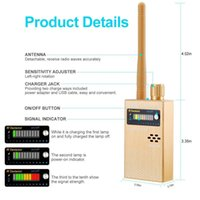Wholesale wireless rf detector gps online - Anti spy Electronic Bug Detector Camera RF Signal Detector GPS Tracker Wireless Radio Frequency Ultra high Sensitivity GSM Device Find