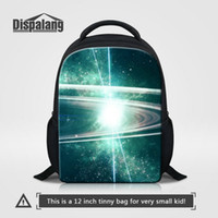 fdad3fe11bee Universe Space Designer Unisex Bags Backpack 12 Inch Small School Bag Kids  Kindergarten Bookbags Children Tavel Outdoor Rucksack Baby Rugtas