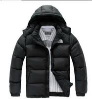 классический мужской пуховик оптовых-2018 Мужская Packable классический бренд север вниз пальто открытый легкий куртки мужские воды лицо куртка 900