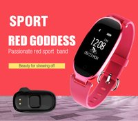 Wholesale Ladies Waterproof Sport Watches - S3 sport watches Bluetooth Waterproof Smart Watch Fashion Women Ladies Heart Rate Monitor Fitness Tracker Smartwatch for Android IOS