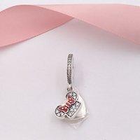 mini takılar toptan satış-Otantik 925 Gümüş Boncuk Mini Fare-Anne Charms Avrupa Pandora Stil Takı Bilezikler Kolye C9641 Uyar